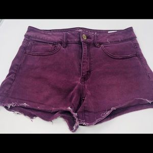 American Eagle Outfitters Shorts - American Eagle High Rise Shorty Jean Shorts Size 6
